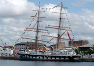 Stavros S Niarchos   IMO 9222314 493gt Built 2000 Sail Training Ship Flag UK