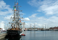 Tall Ships at Wellington Dock