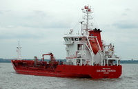 Susanne Theresa   IMO 9334404 2611gt Built 2006 Oil Products Tanker Flag Denmark