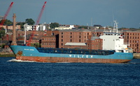 Wilson Gdynia  IMO  9056064 2506gt Built 1994 General Cargo ship Flag Barbados