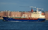 Clipper Tobago  IMO 9209001 5483gt Built 1999 Chemical/Oil Products Tanker Flag Bahamas