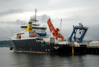 James Cook  IMO 9338242 5368gt Built 2006 Research Vessel Flag UK