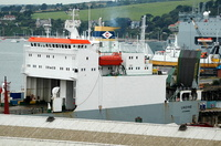 Undine  IMO 9006112 11854gt Built 1991 Ro Ro Cargo Ship Flag Luxembourg