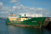 Ronez   IMO 8102476 870gt Built 1982 Cement Carrier Flag UK at Penzance