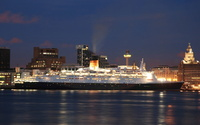 Queen Elizabeth 2  at Liverpool
