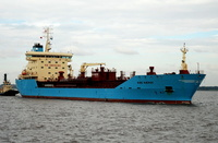 Nibe Maersk IMO 9322700 12105gt Built 2007 Chemical/Oil Tanker