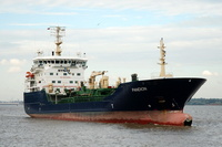 Pandion   IMO 9256420 6280gt Built 2003 Bitumen Tanker Flag Sweden