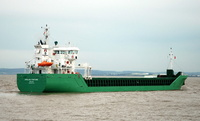 Arklow Fortune  IMO 9361744 2069gt Built 2007 General Cargo Ship Flag Ireland