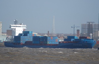 Gracechurch Jupiter    IMO 9242601 6277gt Built 2002 Container Ship Flag Antigua Barbuda