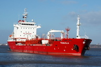 Tequila  IMO 9345219 8539gt Built 2007 Chemical /Oil Products Tanker Flag Marshall Isles