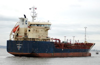 Clipper Nadja  IMO 9122112 4128gt Built 1996 Chemical/Oil Products Tanker Flag Denmark