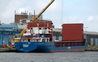 Dornum IMO 9015462 1662gt Built 1993 General Cargo Ship Flag Antigua Barbuda