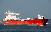 Hanne Knutsen IMO 9190638 72245gt Built 2000 Crude Oil Tanker Flag UK