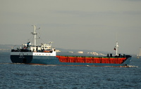 Rita IMO 8209743 1843gt Built 1985 General Cargo Ship Flag Gibraltar