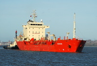 Acavus  IMO 9308754 8531gt Built 2005 Chemical Tanker Flag UK