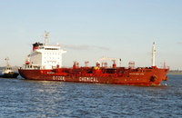 Sichem New York IMO 9337834 8455gt Built 2007 Chemical/Oil Products Tanker Flag Singapore