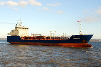 Clipper Nelly  IMO 9130808 4137gt Built 1997 Chemical/Oil Products Tanker Flag Denmark