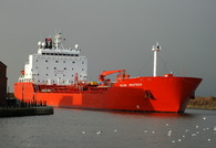 Hilda Knutsen  IMO 8716863 11425gt Built 1989 Chemical/Oil Products Tanker Flag Norway
