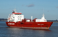 Sigas Laura  IMO 9034509 2223gt Built 1992 LPG Tanker Flag Singapore