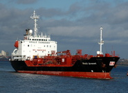 Stolt Avocet  IMO 9004310 3853gt Built 1992 Chemical/Oil Products Tanker Flag Cayman Isles