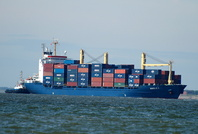 Manolis P  IMO 9101493 14962gt Built 1995 Container Ship Flag Marshall Isles