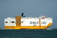 Grande Anversa IMO 9287417 38651gt Built 2004 Vehicles Carrier Flag Italy