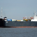 Saga Moon IMO 8411267 7746gt Built 1984 Ro Ro Cargo Ship renamed in 2010 Santa Marcela