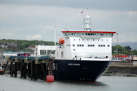 Clipper Panorama IMO 9372676 14759gt Built 2007 Ro Ro Cargo Ship Flag Cyprus Seatruck Ferries