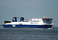 European Endeavour IMO 9181106 22152gt Built 2008 Passenger/Ro Ro Cargo Ship Flag UK