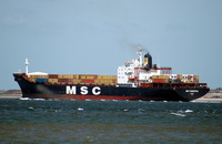 MSC Samantha  IMO 8013766 30657gt Built 1982 Container Ship Flag Panama