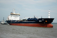 Hulin IMO 9447043 7260gt Built 2008 Chemical/Oil Products Tanker Flag Malta