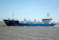 Theodora IMO 9005338 4098gt Built 1991 Oil Products Tanker Flag Netherlands