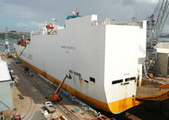 Grande Atlantico in No2 Dry Dock Falmouth
