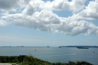 Falmouth Bay from Pendennis Head