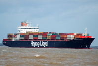 Mississauga Express IMO 9165358 39174gt Built 1998 Container Ship Flag Bermuda