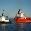 Chem Orion with Tug Smit Liverpool  IMO 9175767 5997gt Built 1998 Chemical/Oil Products Tanker Flag Marshall Isles
