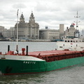 Anette awaiting Alfred Locks IMO 7816135 1713gt Built 1979 General Cargo Ship Flag Norway