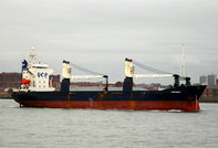 Kochnev inward for Ellesmere Port  IMO 8801620 6030gt Built 1989 General Cargo Ship Flag Cyprus