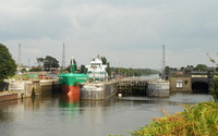 Arklow Viking  on the Manchester Ship Canal