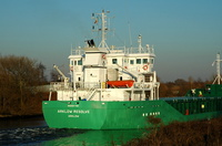 Arklow Resolve  IMO 9287766 2999gt Built 2004 General Cargo Ship Flag Ireland 29/1/06