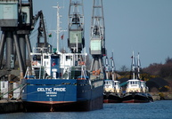 Celtic Pride    IMO 8223074 1946gt Built 1983 General Cargo Ship Flag Bahamas 4/4/06