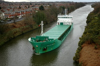Arklow Rover on the Manchester Ship Canal