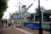 HMS Middleton at Salford Quays