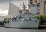 HMS Ledbury M30 at Salford Quays IMO 4906587 17th May 2009