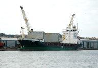Hajo IMO 8913021 3821gt Built 1996 General Cargo Ship Flag Antigua Barbuda at Birkenhead