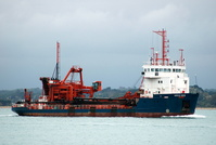 Arco Dee  IMO 8902917 1309gt Built 1990 Dredger Flag UK