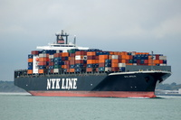 NYK Apollo  IMO 9247730 75484gt Built 2002 Container Ship Flag Panama