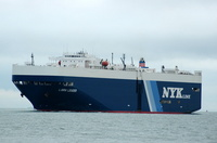 Libra Leader  IMO 9174490 57674gt Built 1998 Vehicles Carrier Flag Panama