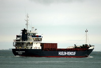 Huelin Endeavour ex Coastal Wave IMO 8215807 2046gt Built 1983 General Cargo Ship Flag Ireland