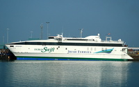 Jonathan Swift    IMO 9188881 Irish Ferries at Holyhead